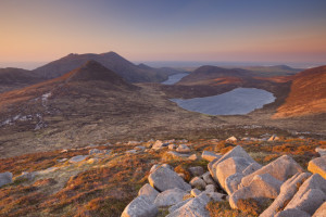 The Mourne Mountains, Northern Ireland.