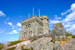 Signal hill tower St John's Newfoundland
