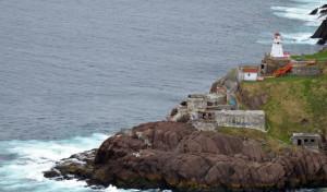 Cape Spear, located on the Avalon Peninsula near St. John's, Newfoundland