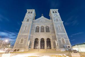 Basilica of Saint John the Baptist, St. John's, Newfoundland.