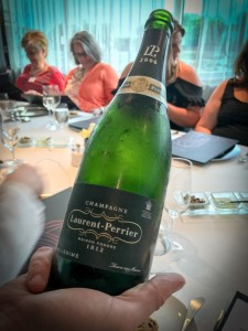 Fine wines and champagnes are included on Scenic. © 2017 Ralph Grizzle