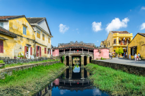 Japanese Covered Bridge in Hoi An