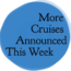 Yep, More Cruises Announced This Week, Bermuda, Alaska, Galapagos, Greece & More