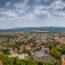 Lake Balaton's North Shore in Hungary